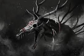 Wendigo criatura terrorífica