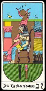 🕉️ «【 La Sacerdotisa Tarot Egipcio 】»