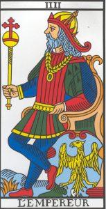 🕉️ «【 El Emperador tarot Marsella 】»