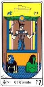 🕉️ «【 Significado de la carta de El Carro en el Tarot egipcio 】»
