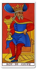 Significado Carta Rey de Copas en el Tarot
