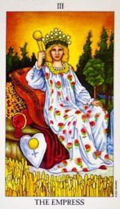 🕉️ «【 La Emperatriz en el Tarot de Tiziana 】»