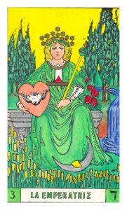 La carta de la Emperatriz Tarot BOTA