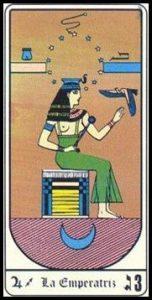 🕉️ «【 La Emperatriz en el Tarot egipcio 】»