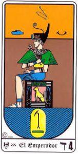 🕉️ «【 Significado El Emperador Tarot Egipcio 】»