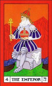 Significado Carta El Emperador Tarot BOTA