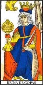 🕉️ «【 Significado Reina de Copas Tarot 】»