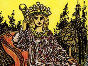 🕉️ «【 La carta de la Emperatriz Tarot 】»