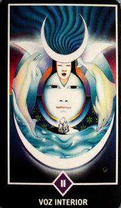 🕉️ «【 La Sacerdotisa en el Tarot Osho Zen 】»