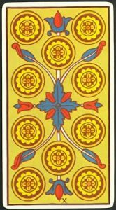 🕉️ «【 Significado Diez de Oros Tarot 】»