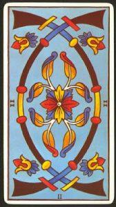 🕉️ «【 Significado dos de Espadas Tarot 】»