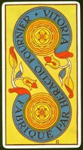 Significado Dos de Oros Tarot