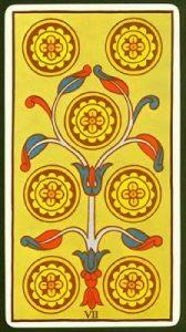 Significado Siete de Oros Tarot