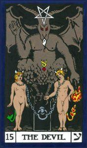 El diablo tarot BOTA