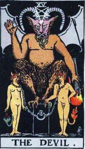 🕉️ «【 El Diablo tarot Rider Waite 】»