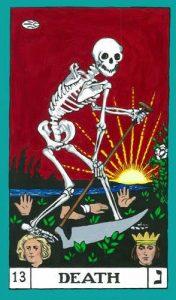 La Muerte Tarot BOTA