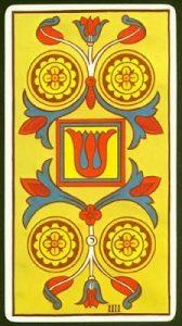 🕉️ «【 Significado Cuatro de Oros Tarot 】»