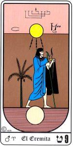 🕉️ «【 El Ermitaño tarot Egipcio 】»
