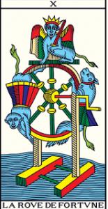 🕉️ «【 La Rueda de la Fortuna tarot 】»