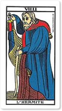 🕉️ «【 El Ermitaño tarot Jodorowsky 】»