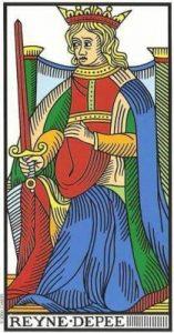🕉️ «【 Significado Reina de Espadas Tarot 】»