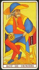 Significado Rey de Oros Tarot