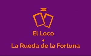 Combinación de la carta de El Loco con la carta de La Rueda de la Fortuna