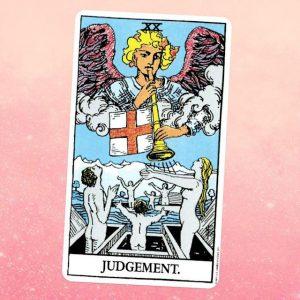 El Juicio o The Judgement en el Tarot Rider Waite
